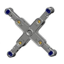 JZX Aluminium Alloy Cross Spacer-Dampers För 500KV Line