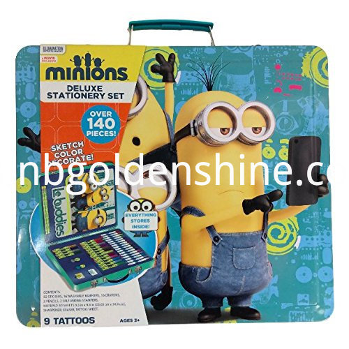 Minions?Kids Deluxe Stationery Pencil Case