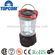 Top rotary switch 30 LED adjustable campe lanterns