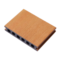 Waterproof composite wood grain floor for garden balcony