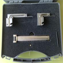 Laringoscopios de fibra óptica de acero inoxidable