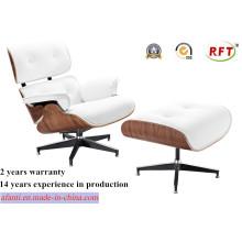 Moderne Möbel Holz Leder Eames Freizeit Lounge Stuhl (RFT-F5D)
