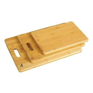 3pcs Bamboo Cutting Board With Handle