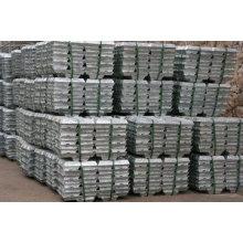 Lingote de zinco puro 99,995% com preço competitivo para venda