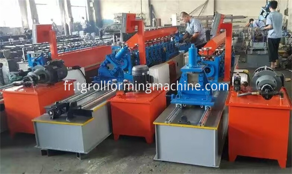 Track Drywall Profile Roll Forming Machine