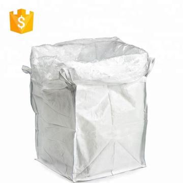 sacs avec cravate chaîne 1 tonne pp en plastique grand sac pour blé grain
