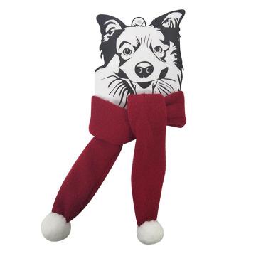 Рождественский шарф для домашних животных и фестивальный шарф для собак