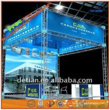 система крыши ферменной конструкции освещения алюминиевая от изготовления стропильной системы отображения в Шанхае Китай 001846