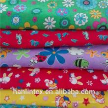 100% Polyester Imprimer Toile de corail pour couverture Tissu de flanelle pour Jajamas pour bébés