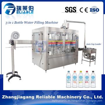 Cgfa 12-12-6 máquina de llenado de botellas de agua potable automática de plástico