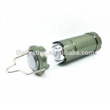 Jexree 300 Lumen LED Lanterna Lanterna Camping com 4X 1.5V AAA bateria