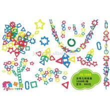 Baby spielen Entwickeln Intelligenz Kunststoff-Steckverbinder Spielzeug
