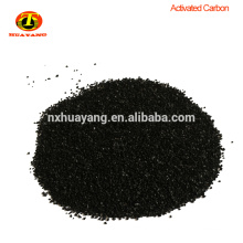 Ningxia huayang activated carbon granular price in kg