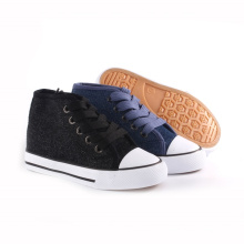 Children Canvas Shoes New Fashion Style Kid′s Shoes (SNK-24217)