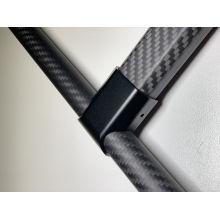 Personalizado barato aluminio cnc corte Hobbycarbon con logo