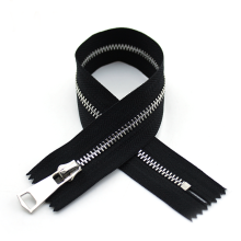Closed End Stainless Steel Metal No. 5 Zipper