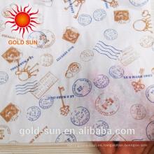 Envoltura de alimentos Use papel de hornear impreso a prueba de grasa para la envoltura de Sandwich Burger