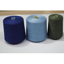 Fil à tricoter de laine de cachemire de mélange de soie douce