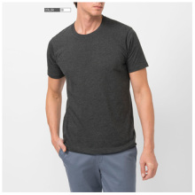 Top Fashion Mens nach Maß Plain Round Neck T-Shirt
