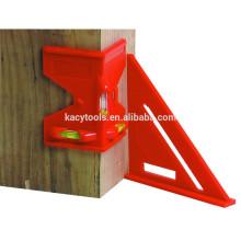 2 piezas de nivel de postes y cuadrados
