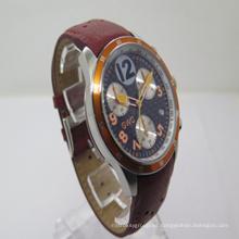 2015 El nuevo reloj multifunción de cuero (JA-150120)