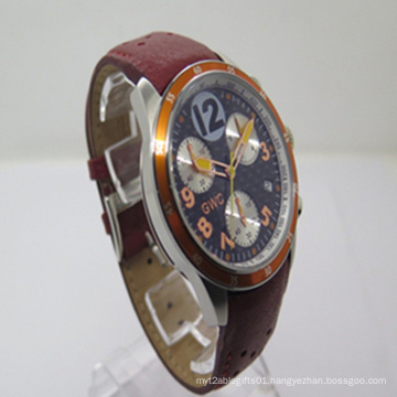 2015 The New Leather Multi-Function Watch (JA-150120)