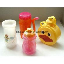 Bouteille en plastique résistant à la chaleur de tasse en plastique de tasse de l'eau résistant aux jouets d'enfants