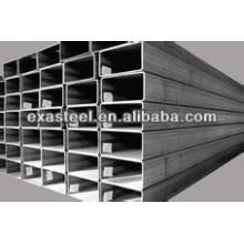 Tubo de acero rectangular de carbono de ERW de China