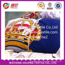 Material de fibra 100% poliéster impreso grado AB (precio bajo)