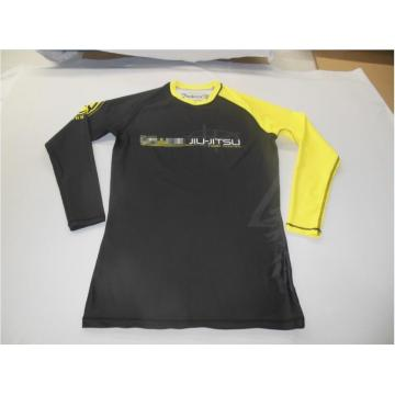 Lotta da allenamento personalizzata da uomo rash guard / custom design mma rash guard