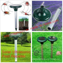 Electronic Solar Powered Mole Repeller - Outdoor Guard