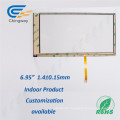 """6.95"""" Pet Film Glass 4 Wire Resistive Touch Screen Film"""