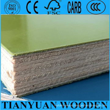 Reused 30 Times PP Plastic Film Faced Plywood