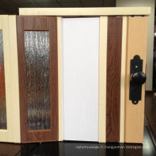 Installation facile Porte pliable en PVC
