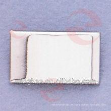 Etiqueta de metal personalizada / placa de identificación / etiqueta para bolsa / bolso (N24-759S)
