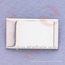 Étiquette / plaque signalétique / étiquette en métal sur mesure pour sac / sac à main (N24-759S)