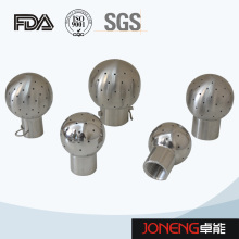 Boule de pulvérisation de nettoyage de produits alimentaires en acier inoxydable (JN-CB2001)