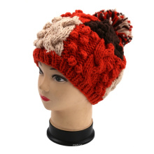 Slouch French Hand Knit Hat Crochet Beanie Beret Winter Gift