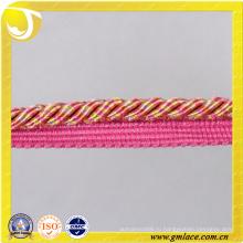 Розовый диван-декор Веревка для подушки Декор Гостиная Кровать комната