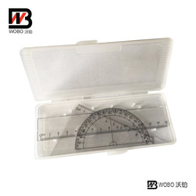 School Supplies Plastic Ruler in Box for Office Stationery Set