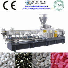 TSE-75 PE PA PS PC compounding extrusion pelletizing