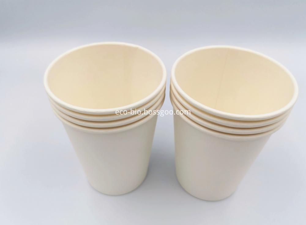 Disposable Cornstarch PLA Paper Cup