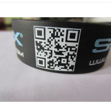 Waterproof Silicon Wristband Soft Wrist Strap (GZHY-SW-0016)