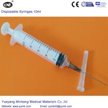 Seringue stérile jetable avec aiguille 10cc (ENK-DS-048)