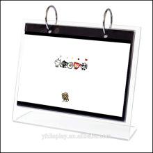 Custom-made Clear Acrylic Calendar