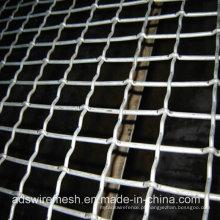 Todo o tratamento de superfície da rede de arame frisado