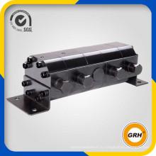 Делитель потока с 4-х секционным гидравлическим мотор-редуктором
