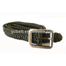 Paracord braided belt