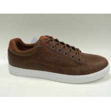 Zapatos de cuero del monopatín de la manera Fuax