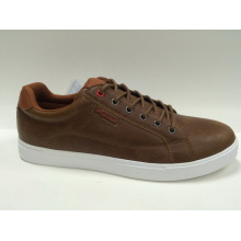 Fashion Fuax Leather Skateboard Shoes
